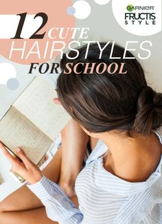 Save your studying for class. Here, we give you 12 cute, easy hairstyles to rock on your first day back to school. These fall-ready styles will have you welcoming in the change of seasons with hair that is ready for whatever gets thrown your way.