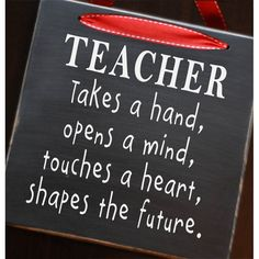 Teacher Gift - Shapes the Future Vinyl Decal