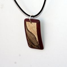Items similar to Purpleheart and Spalted Maple Wood Pendant. on Etsy Wooden Necklace, Wooden Jewelry, Handmade Jewelry, Wood Earrings, Spalted Maple, Gold Wood, Bone Carving, Wood Turning, Wood Crafts