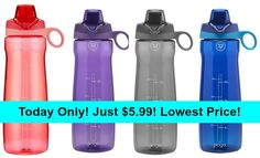 Today Only! Pogo BPA-Free Plastic Water Bottle with Chug Lid 32 oz - $5.99!