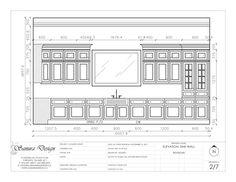 Modern Kitchen Elevation sample kitchen elevation | shop drawings | pinterest | kitchens