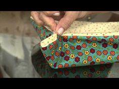 Aprenda a fazer uma linda cesta para sua mesa do café da manhã!
