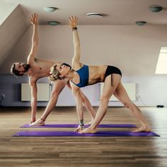 Aid digestion, and relieve lower back pain with twist yoga poses like Noose Pose, Half Lord of the Fishes Pose and Revolved Triangle Pose.