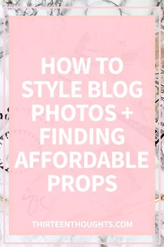 Blog Photography Styling + Affordable Props There are two things I wish I realized about photography when I started this blog. One: you have to fake till you make it. Two: you have to work with what you've got. There's… Share this!Click to share on Facebook (Opens in new window)Click to share on Twitter (Opens in new window)Click to share on Tumblr (Opens in new window)Click to email this to a friend (Opens in new window)Click to share on Reddit (Opens in new window)Click t...
