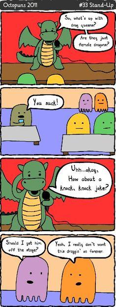Don't dragons tell the best jokes? #punny
