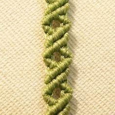 Tutorial: Little corners bracelet