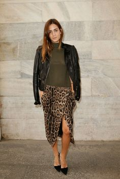 Look of the Day.382: MFW leopard love
