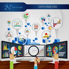 Data Analysis #zentrope #facebook #instagram #twitter #pinterest #youtube #yelp #googleplus #snapchat #wechat #data #dataanalysis #datascience #database #bigdata #analysis