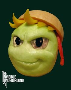 Impressive Fruit Carvings By Shawn Feeney of the Invisible Underground