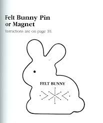 Image result for bunny felt template