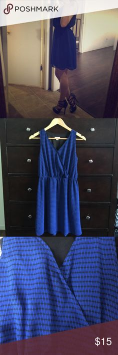 Royal Blue Dress Dress is New Without Tags, Just Tried on to show pictures Dresses Midi