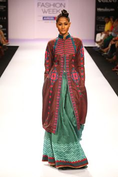 Shruti Sancheti LIFW 2012 Winter