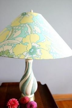 Recover a lamp shade