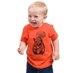Amazon.com: Squirrel American Apparel Toddler Tee: Clothing