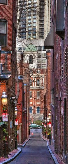 Old West Church, Boston.,by Joann Vitali