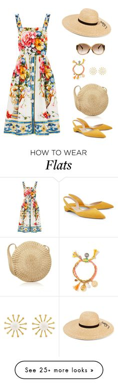 """Untitled #356"" by orrinn on Polyvore featuring Dolce&Gabbana, Meg Carter Designs, Eugenia Kim, Louis Vuitton and Paul Andrew"