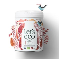 Let´s eco Milk Powder. Packaging design by Simply. Formula Milk, Milk Packaging, Baby Powder, Powdered Milk, Japanese Design, Baby Products, Package Design, Caffeine, Dairy