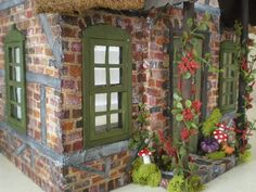 Buttercup Cottage Dollhouse | Frog's Cottage Custom Dollhouse
