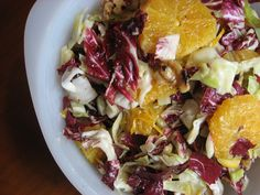 Radicchio and Cabbage Citrus Salad by rkosick, via Flickr