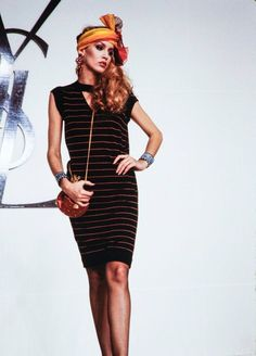 53890fb022f Jerry Hall walking for YSL S S 1981 Vintage Fashion