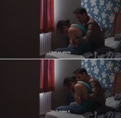 ― Two Days, One Night (2014) Sandra: I feel so alone. Manu: We'll make it.