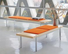 Arcadia Contract - Seating and table products for public spaces, conference rooms and private offices Davis Furniture, Bench Furniture, Contract Furniture, Modular Furniture, Furniture Design, Lobby Interior, Interior Exterior, Interior Design, Public Seating