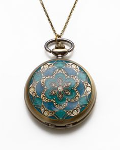 Pocket Watch Pendant - JewelMint