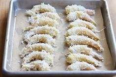 Lets make Baked Coconut Shrimp with Spicy Honey Drizzle!