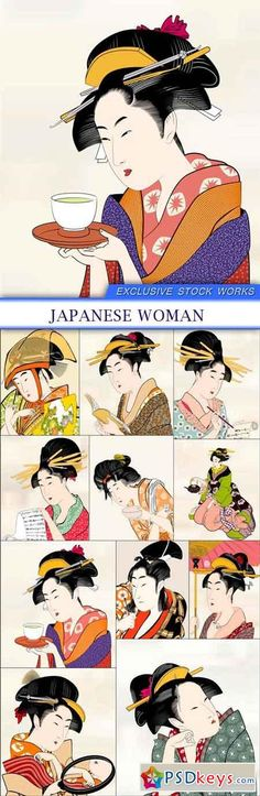 JAPANESE WOMAN 11X EPS