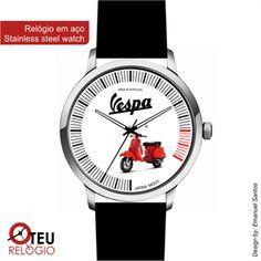 Mostrar detalhes para Relógio de pulso OTR VESPA MOTO 011