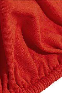 Eres - Les Essentiels Mouna Triangle Bikini Top - Bright orange - FR42