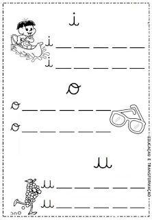 Atividades para Jardim: Vogais e encontros vocálicos Alphabet, Teaching, Maria Clara, Maria Jose, Google, Language Activities, Sight Word Activities, Cursive Letters, School Supplies