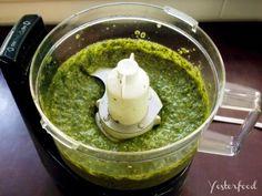 Yesterfood : Fresh Basil Pesto