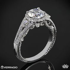 Verragio  Diamond  Ring  Engagement  Wedding  Jewelry