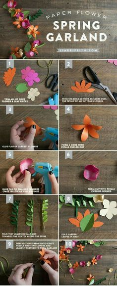 Diy Flowers Before Wedding inside Flower Making For Wall Decoration past Arts And Crafts Furniture Edinburgh. Diy Wedding Flower Arrangements Centerpieces after Cost Of Diy Flower Wall Paper Flower Garlands, Paper Flowers Diy, Flower Crafts, Diy Paper, Paper Crafting, Fabric Flowers, Flower Diy, Flower Ideas, Simple Paper Flower