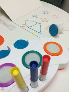 Paint and Play-Doh S
