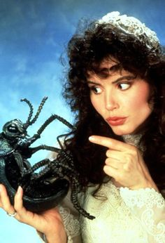 Geena Davis as Barbara Maitland in Beetlejuice 1988