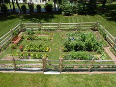 Edible Landscaping: Kitchen Garden   jardin potager   bauerngarten   köksträdgård
