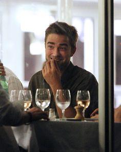 Dinner in Cannes Robert Pattinson Twilight, Edward Cullen, International Film Festival, Most Beautiful Man, Celebrity Couples, Rare Photos, Cannes, Eye Candy, Celebs