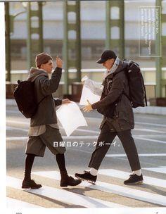 Mens Fashion Casual – The World of Mens Fashion Japan Fashion, Mens Fashion, Fashion Outfits, Street Fashion, Popeye Magazine, Men Street, Poses, Mode Style, Bmx