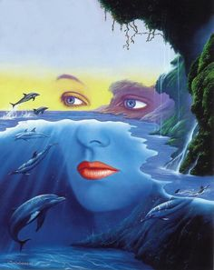 friends of mother nature - Surrealistic Fantasy Paintings by Jim Warren  <3 <3