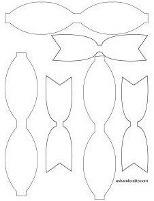 Paper Bow Tie Template Printable from i.pinimg.com