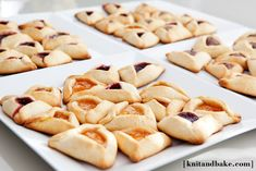 Homemade Raspberry, Peach, and Nutella Hamentashen Recipe (for Purim!)