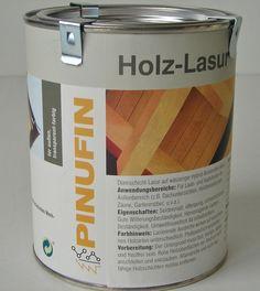 PINUS PINUFIN Holz-Lasur, hochwertige Holzlasur Douglasie 0,75l Dose Lasur Holz