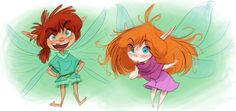 Pixie kids! No real relation to Fen but are probably from the same tribe.