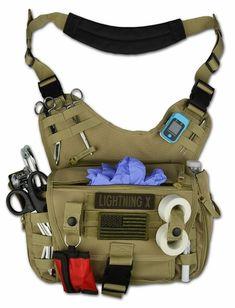 Tactical Medic, Tactical Bag, Airsoft, Bushcraft, Hip Pads, Medical Bag, Tac Gear, Tactical Equipment, Shoulder Sling