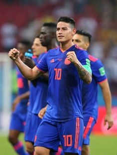 Colombia: Group H - 2018 FIFA World Cup Russia James Rodrigez, King James, Soccer Guys, Football Players, James Rodriguez Wallpapers, Messi And Ronaldo, Russia 2018, Fifa World Cup, Victorious