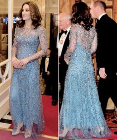 The Duke and Duchess of Cambridge arriving to attend the Royal Variety Performance at the London Palladium in central London.    24.11.2017