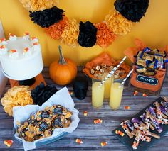 Halloween Candy Bash Treats