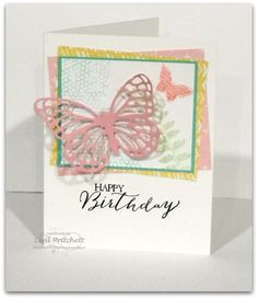 Butterfly Basics, Butterfly Thinlits ~ Stampin Up